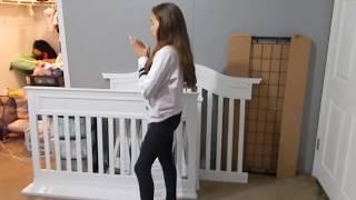 Baby Nursery News! New Crib! Room Painted! Nooo!! We Are Moving!!