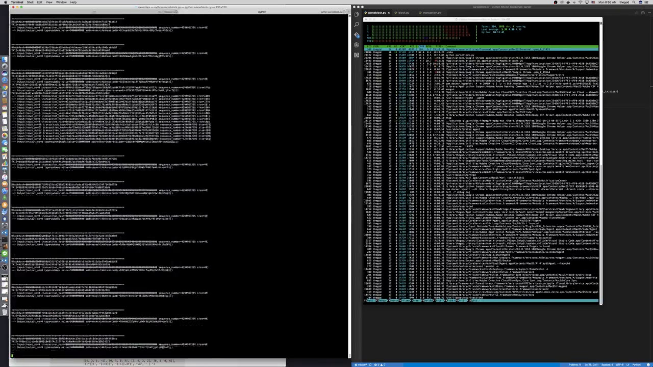 BlockParser on Development - Native Parser