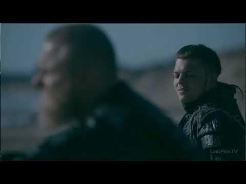 Прибытие войска Руси к берегам Викингов (сериал Викинги)