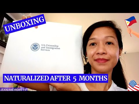 What's Inside in a U.S. Citizenship & Immigration Services Envelope by Jean Andrews TV