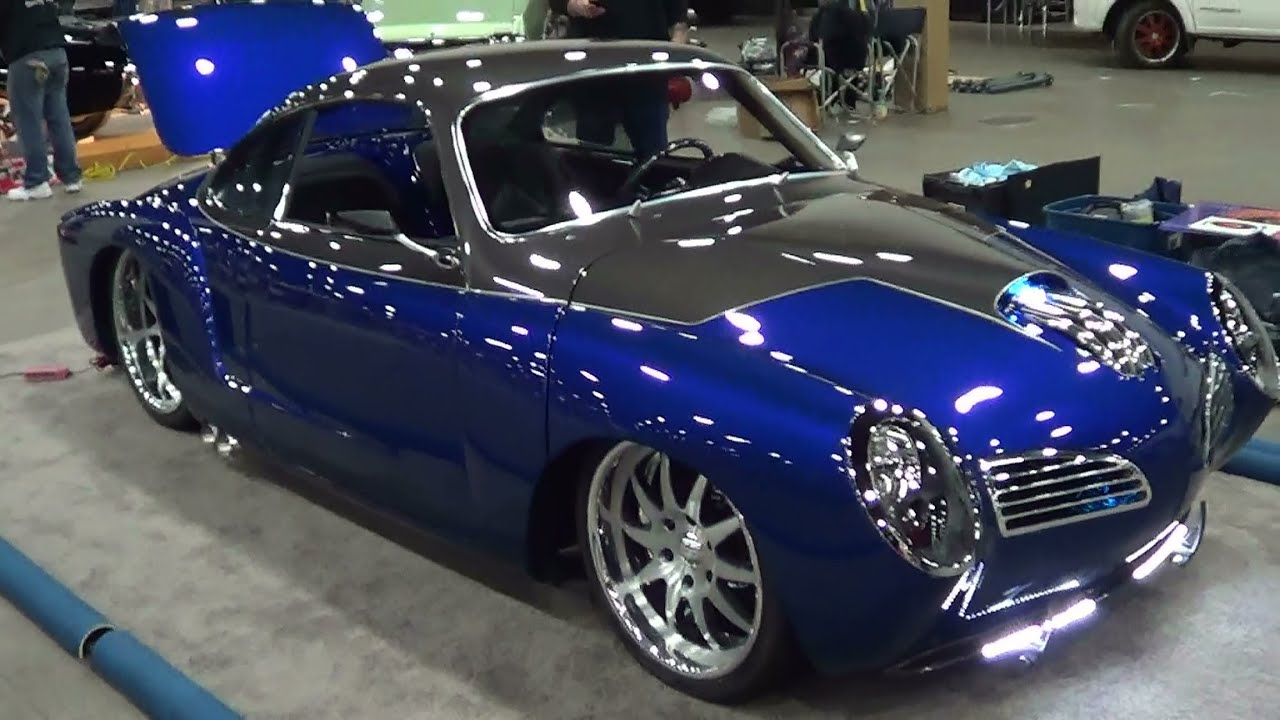 "67 Karmann Ghia Viper V-10 ""Blue Mamba"" - YouTube"