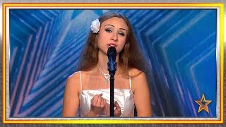 Una polaca enamorada de España enamora al jurado con su voz | Audiciones 5 | Got Talent España 2019