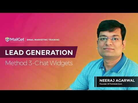 Video-9 Lead Generation Method-3 Chat Widgets