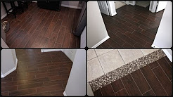 Wood Look Tile - Everything You Want to Know   #woodlooktile