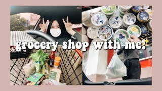 grocery shop with me!✨