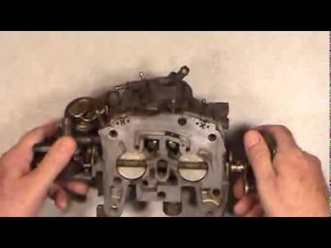 Rochester Quadrajet Dualjet Idle Mixture Plug Removal, Plus