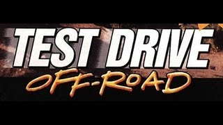 Classic PS1 Game Test Drive Off-Road on PS3 in HD 720p