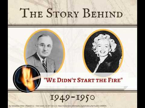 1949-1950: Harry Truman through Marilyn Monroe (WDSTF Series, TSB052)