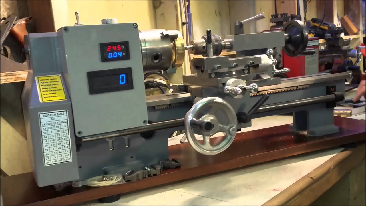 seig mini lathe rebuild 37 demonstrate brushless motor and dro Mini Lathe Stand seig mini lathe rebuild 37 demonstrate brushless motor and dro flywheel shaft hole
