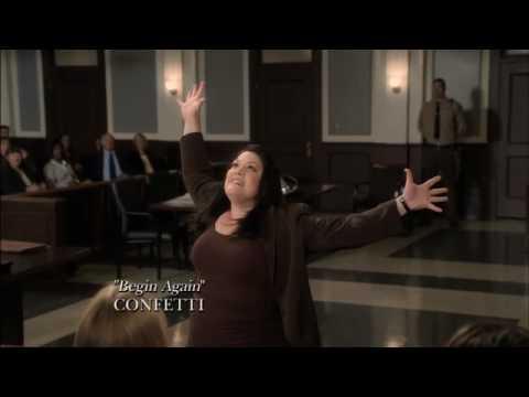 Drop Dead Diva Music Video - Begin Again by Confetti