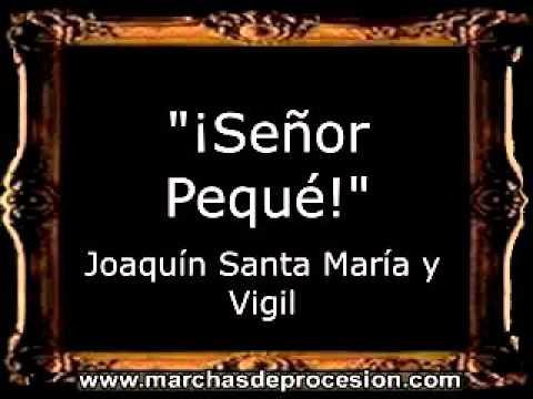 ¡Señor Pequé! - Joaquín Santa María y Vigil [GU]