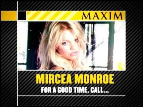 Maxim Exclusive - For A Good Time, Call: Mircea Monroe