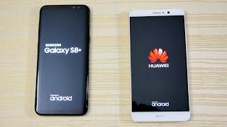 Galaxy S8 vs Mate 9 - Speed Test! (4K)