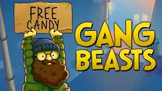THE CANDY DEALER!! - Gang Beasts Funny Moments Gameplay