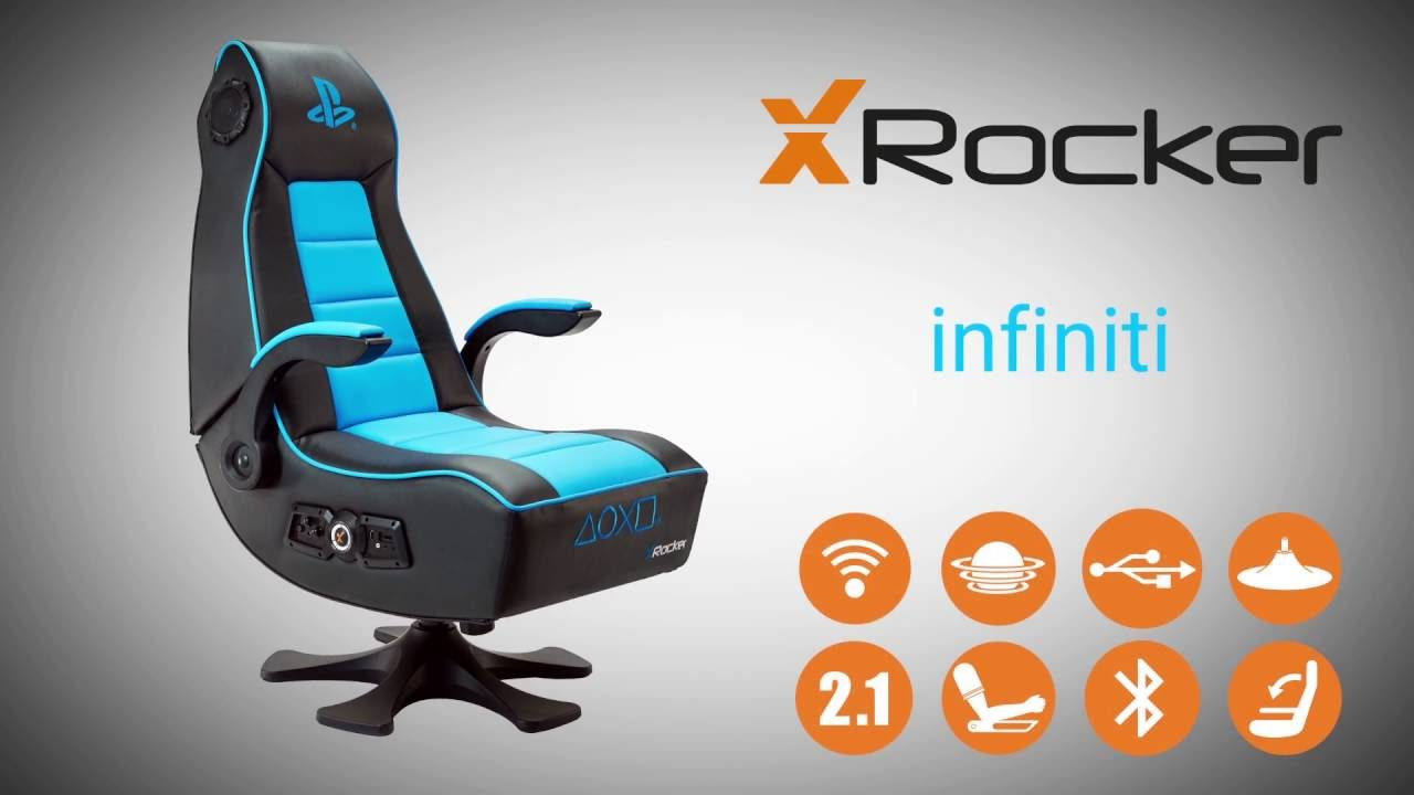 X Rocker Infiniti Officially Licensed Playstation Gaming Chair