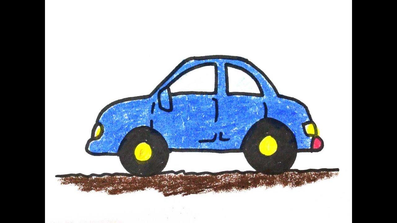 Gambar Mobil Balap Menggunakan Pensil