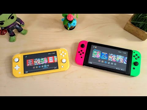 Nintendo Switch Vs. Switch Lite... Which is the Switch for you???