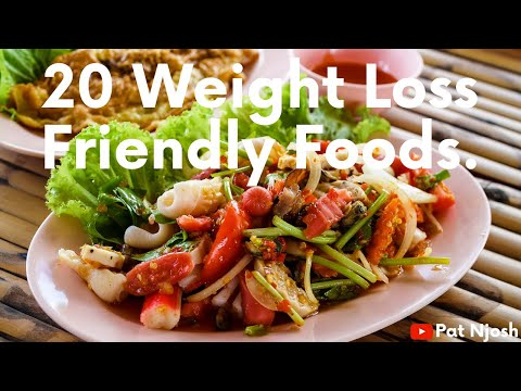 Top 20 affordable weight loss friendly foods.