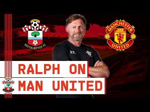 PRESS CONFERENCE: Hasenhüttl assesses Manchester United