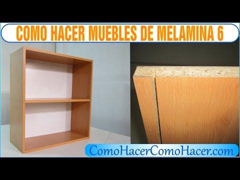 Bricolage como hacer muebles laminados de melamina 3 doovi for Como hacer muebles en melamina