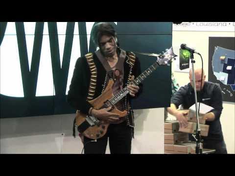Stanley Jordan - Namm 2012 - Performance 1