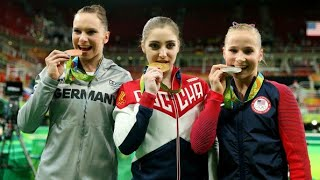 2016 Olympics WAG Uneven Bars Final NBC