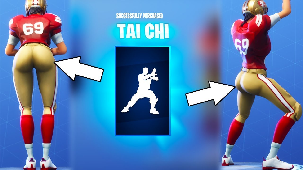 New Thicc Tai Chi Dance Emote With All Girls Fortnite