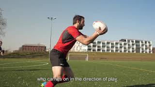 TUTO RUGBY: LES COMBINAISONS / COMBINATIONS