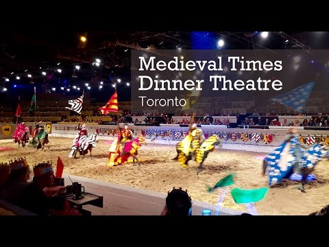 Family Travel Medieval Times Dinner Theatre Toronto