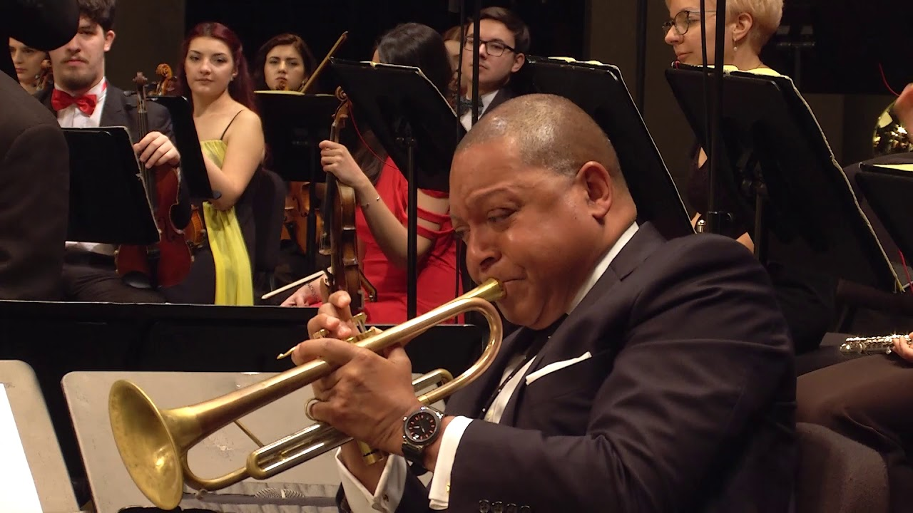 THE JUNGLE: Movement I - JLCO w/ WYNTON MARSALIS & the NATIONAL SYMPHONY ORCHESTRA OF ROMANIA