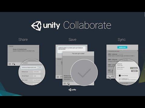 Collaborer à distance sur un projet UNITY avec Collaborate BETA