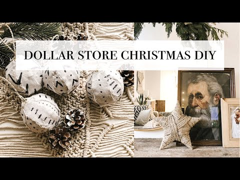 Dollar Store Christmas Decorations DIY