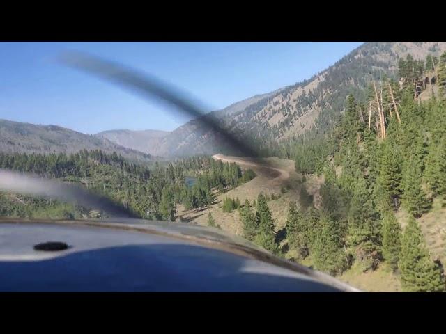 Landing Indian Creek Airstrip 2019-07-20