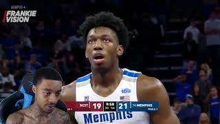 Reacting To Another Potential #1 Pick For Warriors James Wiseman Memphis Full Season Highlights!