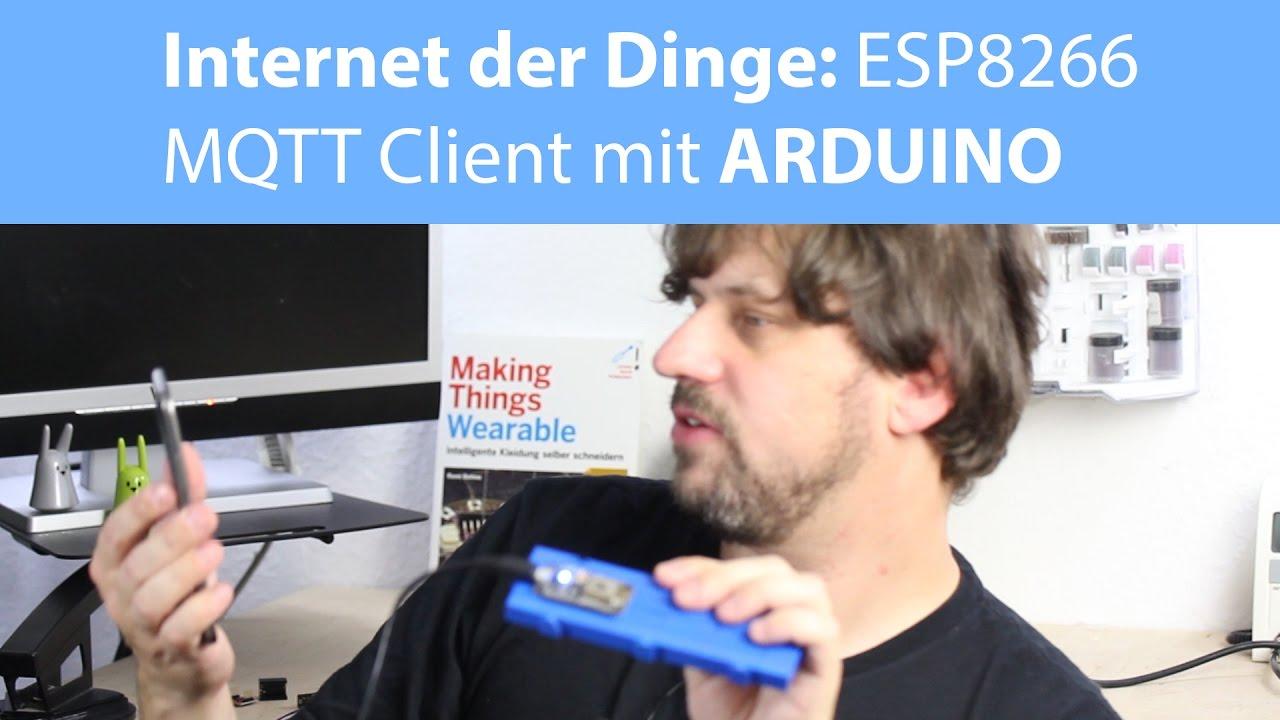 MQTT mit ESP8266 nodemcu und Arduino IDE [deutsch]