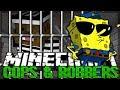 Minecraft SPONGEBOB Modded Cops and Robbers