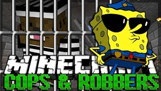 One of JeromeASF's most viewed videos: Minecraft SPONGEBOB Modded Cops and Robbers