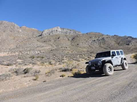 Secret Pass 4x4 Trail in Nye County, Nevada