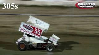 Princeton Speedway 305 Sprint Car Highlights