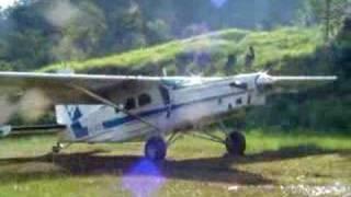 Pilatus Porter extreme short field landing pc6