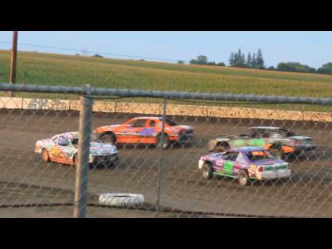 STUART SPEEDWAY 7/24/2016  STOCK CAR FEATURE (9680-83)
