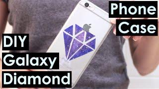 DIY Galaxy Diamond Phone Case
