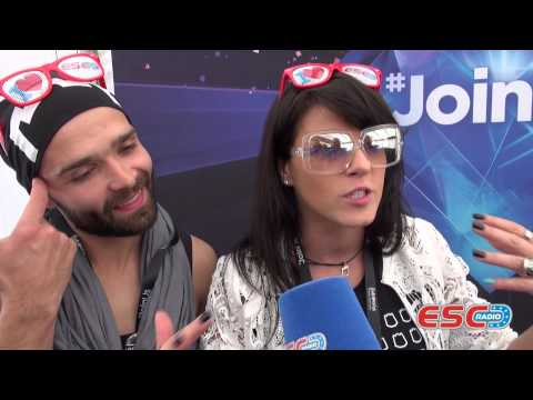 Vilija (Lithuania 2014) Interview ESC Radio 2014