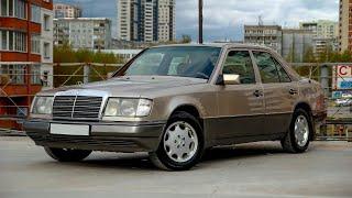 mercedes-Benz E260 1990г.   124 кузов  тест-драйв