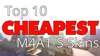 Top 10 Cheap M4A1-S Skins