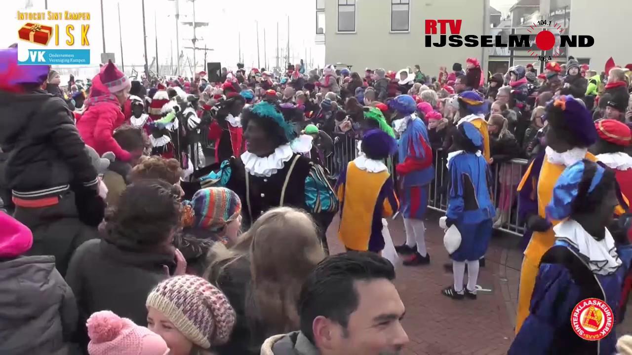 Sinterklaas Intocht Kampen 2016 Youtube
