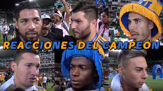 video reaccion tigres campeon | FINAL leon vs tigres