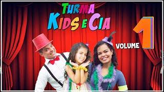 DVD INFANTIL - Turma Kids e Cia - Volume 1 (completo)