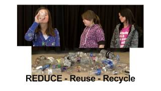 Reduce, Reuse, Recycle Movie Theater Ad