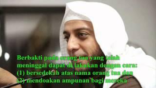 Berbakti pada Orang Tua--Syeh Ali Jaber